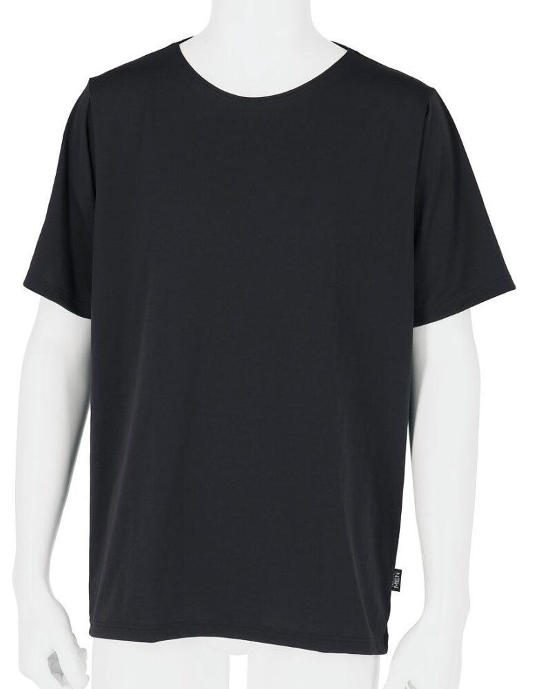 &RECOVERY(アンドリカバリー) アンドリカバリー メンズシャツ (丸首3分袖)